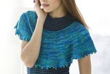 Knit Cover-Ups / Knit shawls, shrugs, wraps, and other cover-ups / by Lion Brand