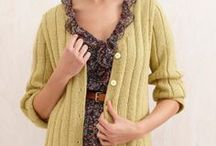 Knit Sweaters / Knit sweaters, cardigans, jackets and more! / by Lion Brand