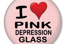Pink Depression Glass / by Susan Akers
