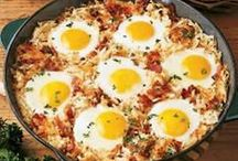 Breakfast / Start your day off right with a hearty breakfast. / by Chip Beatty