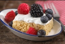 Rice Krispies Treats / Visit Snackpicks.com for Fun Rice Krispies Treats Recipes! / by Snackpicks