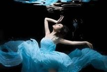 Underwater Portrait Inspiration / Underwater images to inspire plus related poses / by Megan DiPiero Photography