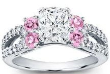 Gemstone Accents / Adding a gemstone accent can make your engagement ring that much more colorful and unique! / by Adiamor