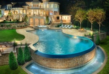 Pool / Pins about SWIMMING POOL IDEAS - See more about small pools, natural pools and swimming pools. / by Maher Mashaal