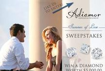 Adiamor Sales and Specials / We love to run promotions- be sure to sign up for our monthly newsletter and be the first to know when our gorgeous jewelry goes on sale! / by Adiamor