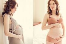 Glamour {Maternity} / Beauty, Glamour portraits for the modern, expecting mom. / by Megan DiPiero Photography