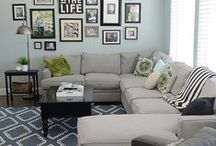 {brown house remodel} / Ideas for Sharon & Mike's House Make-over. / by Elsa Schneider