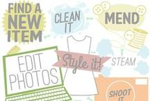 BUSINESS / Business, vintage clothing and online selling tips and products / by Courtney Robbins