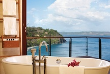 Lux and Lathered / There's nothing more relaxing than soaking in a luxurious tub, letting your cares melt away. Which of these spectacular Four Seasons bathrooms from around the globe would you like to call your own? / by Four Seasons Hotels and Resorts