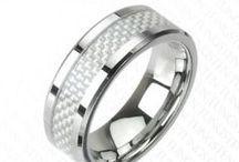 Men's Wedding Rings / Blue Steel's Men's Wedding Rings. / by Blue Steel