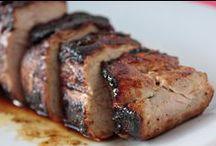Pork / A heart denotes a tried and true recipe / by Karlene Marie