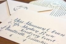 | lettering penmanship fonts calligraphy | / by Ann Favre Watkins