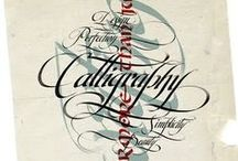Calligraphy / beautiful lettering / by Catherine Langsdorf