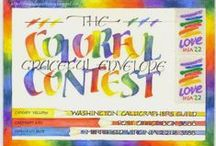 Graceful Envelope Contest / annual competition / by Catherine Langsdorf