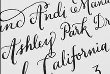 hand lettering / by Amanda Morris