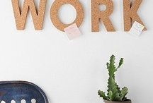 offices & creative workspaces / by Amanda Morris