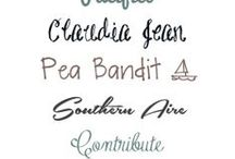 Fonts / by Raquel Quesada (All My Things)