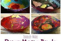 Craft Ideas / by Caroline's Happy Hearts Daycare