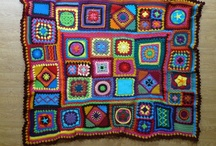 Better Homes and Garden Granny Square Sampler Afghan: A reprise / This is a project I need to have done by the middle of May for a wedding. I just started on it yesterday (April 6, 2012). / by Leslie Stahlhut
