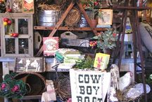 Booth display ideas & inspiration!  / by Laura Britton Callaham
