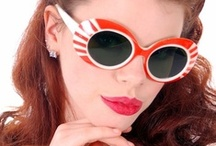 Exciting Vintage Eyeglasses & Sunglasses / I bumped into a vintage glasses/sunglasses collection, famed to be owned by a French Airline Stewardess...#Vintage Sunglasses # Vintage Eyeglasses / by The Cats Pajamas
