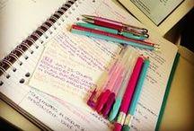 Notetaking / Studying / by Lindalawen