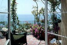 HOME - outdoors / balconies n porches n patios n decks n pergolas n gardens n deco for .. / by Anna Was Here
