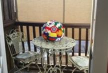 2014 World Cup soccer ball / This board documents my effort to make a crochet soccer ball from hexagons and pentagons inspired by the flags of the countries playing in the 2014 World Cup / by Leslie Stahlhut