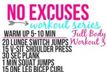 LIFE - Exercise  / Easy exercise ideas.  / by Hairspray and HighHeels
