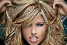 HAIR-A-LIOUS / Ideas for a new hair style / by Tiffany Garza
