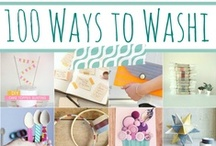 MAKE - Washi  / Washi Tape DIY & craft projects. / by Hairspray and HighHeels
