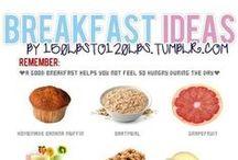 EAT - Breakfast  / Easy breakfast recipes.  / by Hairspray and HighHeels