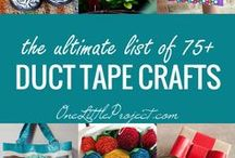 MAKE - Duct  Tape / DIY & crafts duct tape projects. / by Hairspray and HighHeels