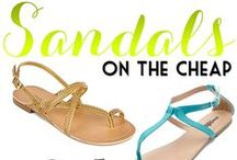WEAR - Sandals / Must have sandals.  / by Hairspray and HighHeels