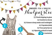 HOLIDAYS - New Years Eve / Easy New Years Eve Ideas.  / by Hairspray and HighHeels