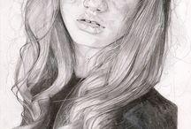 Art & Illustration Inspiration / painting. sculpture. drawing. illustration. / by Amanda Siegmann