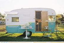 vintage campers/Glamping / by Tracy Balcius