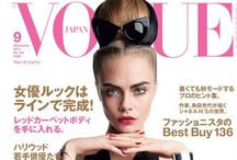 Vogue / All things in Vogue including Vogue itself  / by Georgia Dodou
