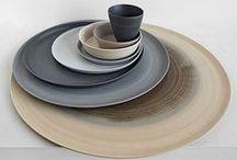ceramics & tableware / Ceramics aficionada and alumna. Exploring techniques, shapes, modern and traditional ceramics ...   / by Ickemixe
