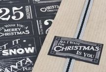 christmas decoration / christmas moodboard - inspirations, ideas, diy, decoration, gift wrapping, christmas cards, some shops / products etc.  / by Ickemixe