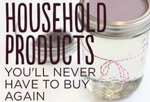 Household DIY Products / by Emira Wininger
