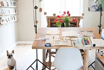 Workspace / by Colleen Ludovice (inspired to share)