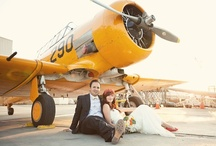 style: jetsetter / wedding day inspiration based on the feel and style of aviation and travel / by kristin