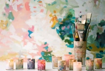 watercolor weddings / wedding day ideas inspired by watercolor dreamy-ness / by kristin