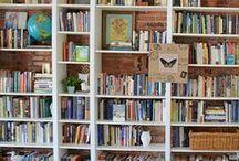 bookshelf porn. / Big beautiful bookshelves. / by Cherise Fuselier