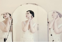 style: art deco / art deco inspired wedding day style. / by kristin austin