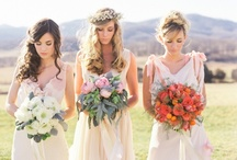 1. Bride and Bridesmaids / The Bride, Bridesmaids and Trash the Dress Photography / by April Rose Waith