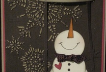 christmas cards / by Donna Van Etten