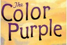 """The Color Purple / The Milwaukee Rep brings you the hit musical based on Alice Walker's Pulitzer Prize-winning novel. This glorious musical saga, spanning four decades, tells the unforgettable story of a woman who finds the strength to triumph over adversity and discover her own unique voice in the world. With a joyous Grammy-nominated score featuring jazz, ragtime, gospel and blues, The Color Purple captures the hearts of young and old, and reminds us that """"it only takes a grain of love to make a mighty tree."""" / by Milwaukee Rep"""