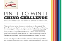 Contest Fun!  / by Canvas Lands' End